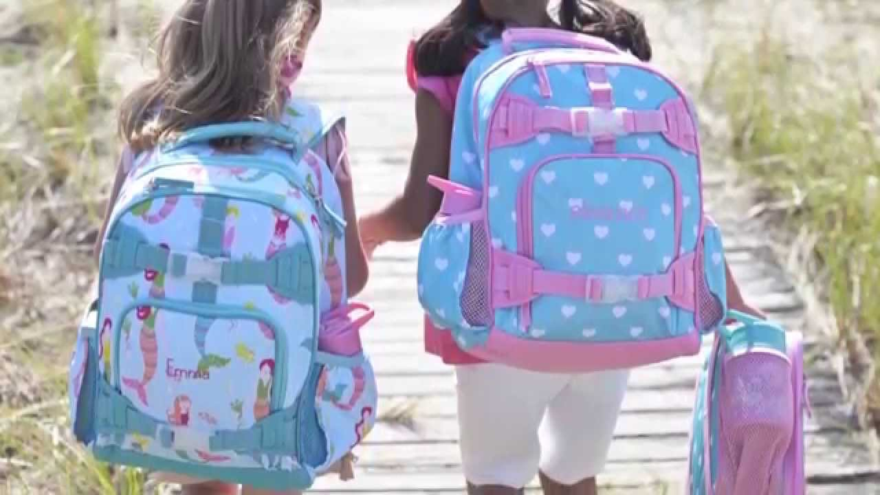 Cute Backpacks for Kids | Pottery Barn Kids - YouTube