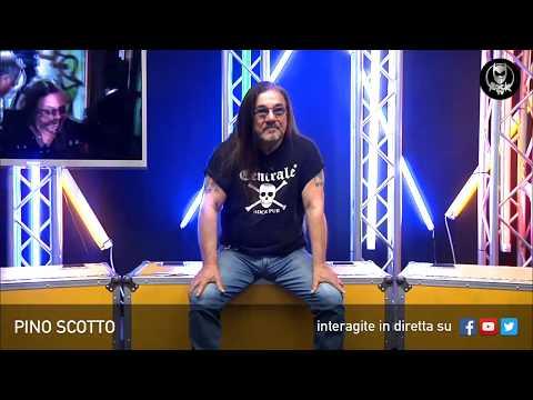 PINO SCOTTO 🔥 LIVE SU ROCK TV 🤘🏻📲 8 MAGGIO 2018