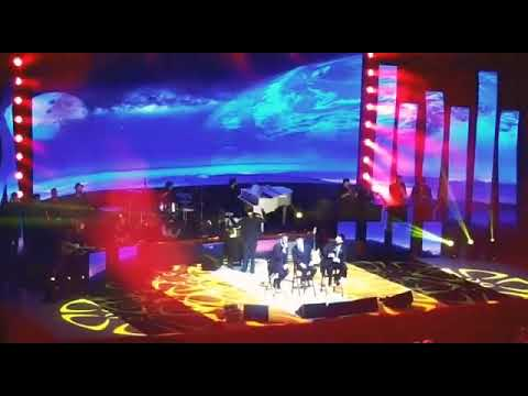 Avraham Fried, Benny Friedman and Simcha at United Hatzalah concert Jersualem!