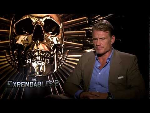 Dolph Lundgren Interview/Entrevista (The Expendables 2/Los Indestructibles/Mercenarios)