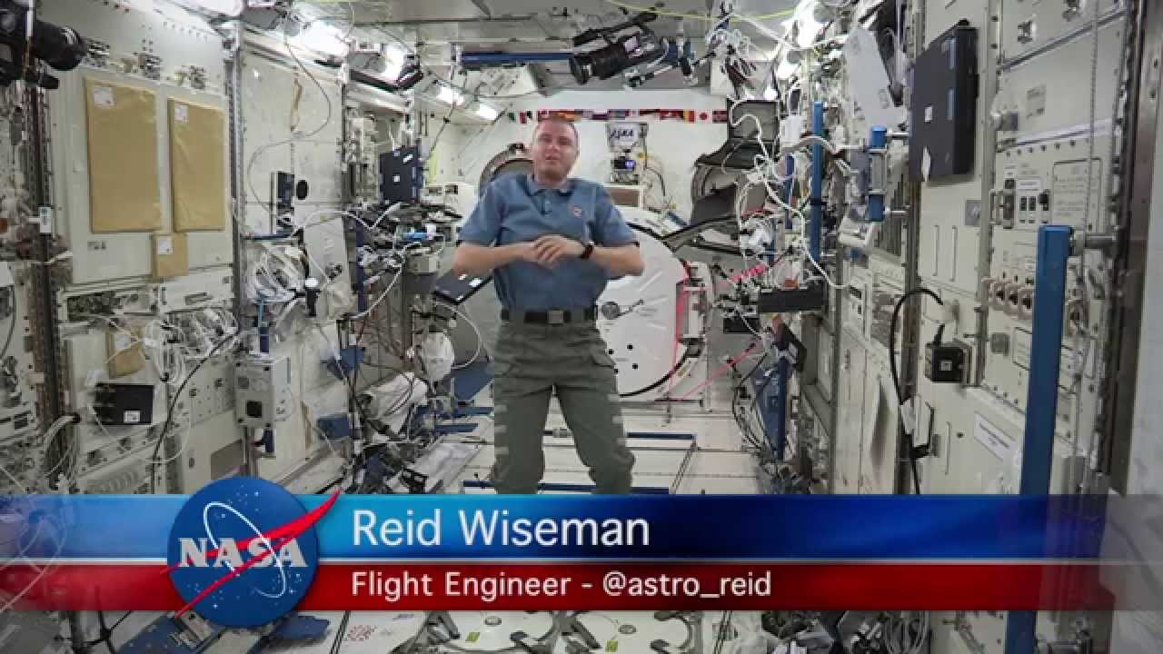Why does astronaut Reid Wiseman use social media? - YouTube
