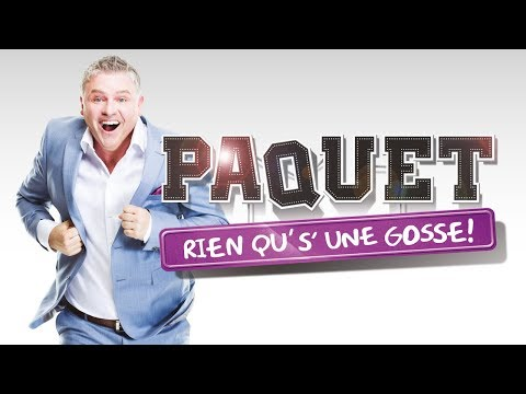Dominic Paquet - Rien qu'sur une gosse