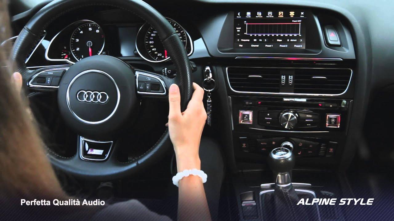 Adattatore amplificazione INFINITY Active system AUDI A3 e A4 dal 2007 no MMI
