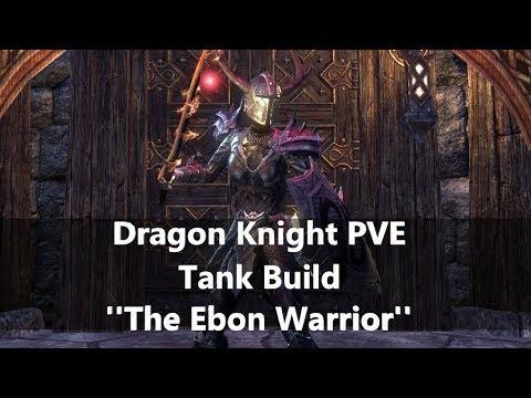Dragon Knight PVE tank build [Elsweyr 2019-30-05] - Learn ESO