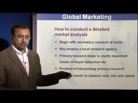 Principles of Marketing Lectures - Analysing Foreign Market Opportunities
