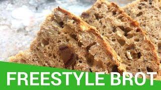 Rezept: Freestyle Brot | Einfach, lecker & ohne viel Aufwand