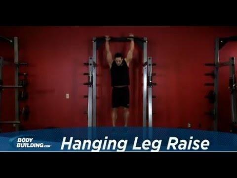 Hanging Leg Raise - Ab Exercise - Bodybuilding.com