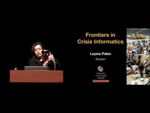 CHI 2015 Social Impact Award: Leysia Palen - Frontiers in Crisis Informatics