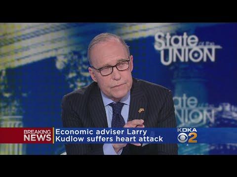 Trump's Economic Adviser Larry Kudlow Suffers Heart Attack