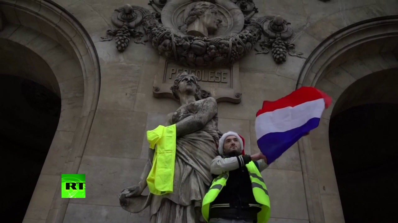 'Macron resign': 'Yellow Vests' protests rage in Paris for 5th weekend in a row