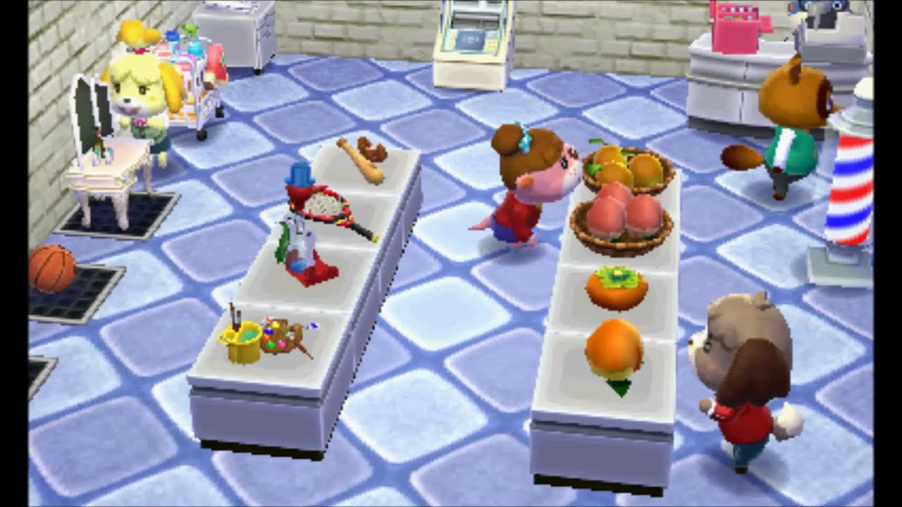 Animal Crossing: Happy Home Designer - Shop Upgrade - YouTube