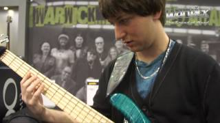 Warwick @ NAMM 2013 - Mike Zabrin and the LWA 1000