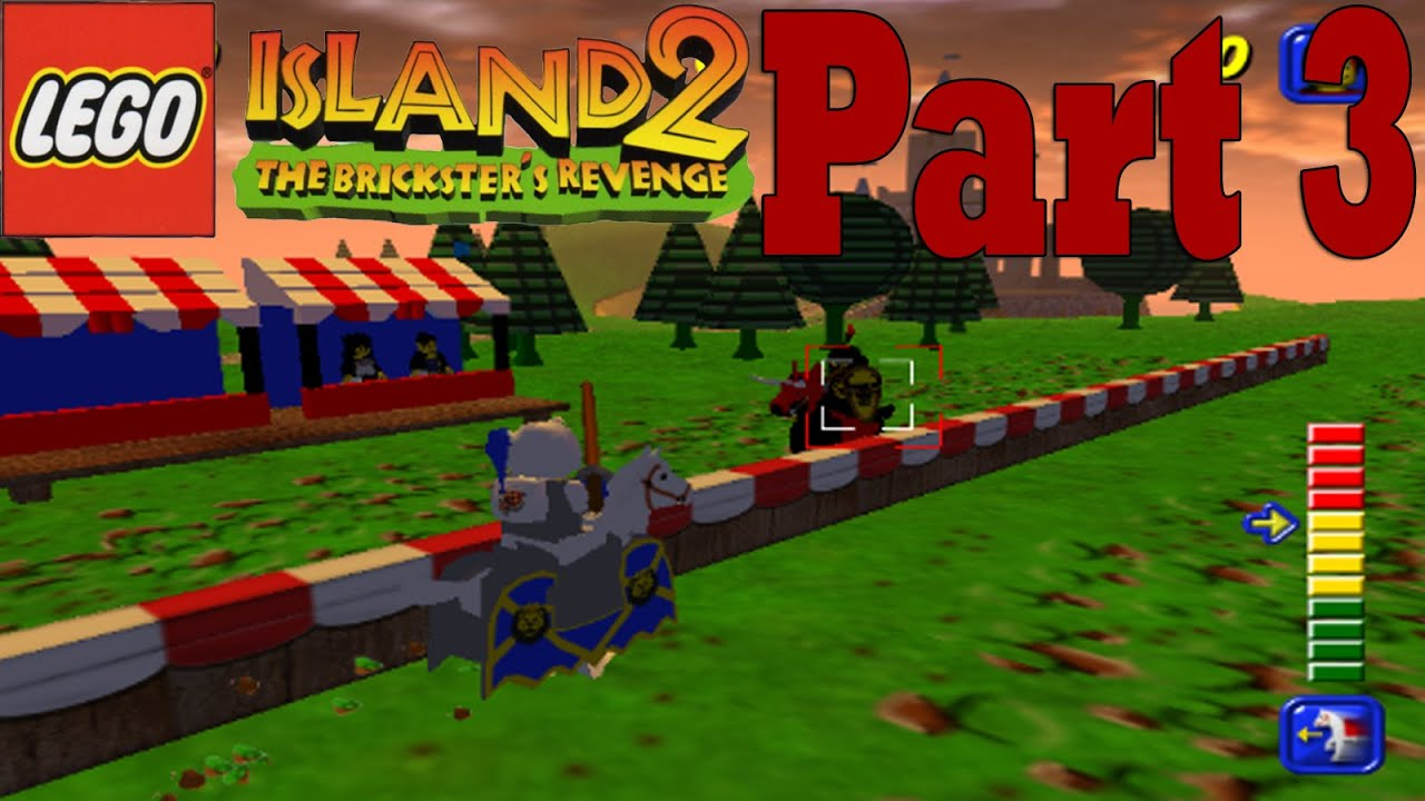Lego Island 2 (PC) [Part 3] Jousting is Fun! - YouTube