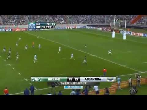 Juan Martín Hernández drop goals hat-trick