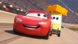 Cars 3 New Scene - Cheesy Grease Lightning Mcqueen Fix !