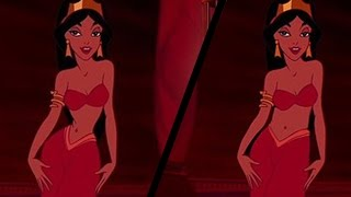 Women React To Realistic Disney Princess Waistlines