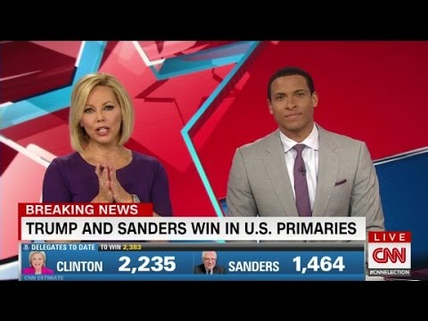 Trump and Sanders win in U.S. primaries