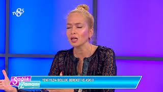TV 8,5 SAĞLIK ZAMANI-SPİRİTÜEL DANIŞMAN VE YAZAR TUĞÇE IŞINSU-06.01.2018