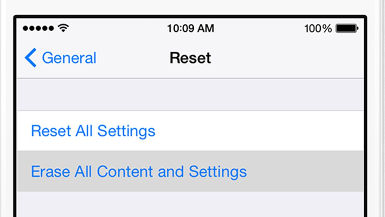 erase iphone without itunes stuck after quot reset all settings erase all content and 8845