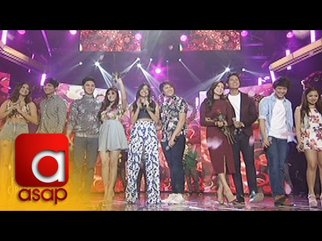 ASAP: LizQuen, DanRich & Kapamilya love teams sing 'Baby I Love Your Way'