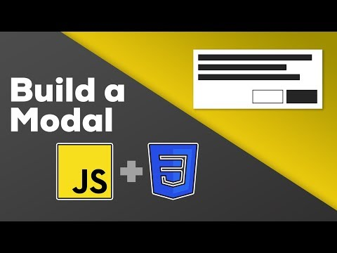 Vanilla JavaScript Modal - With CSS display