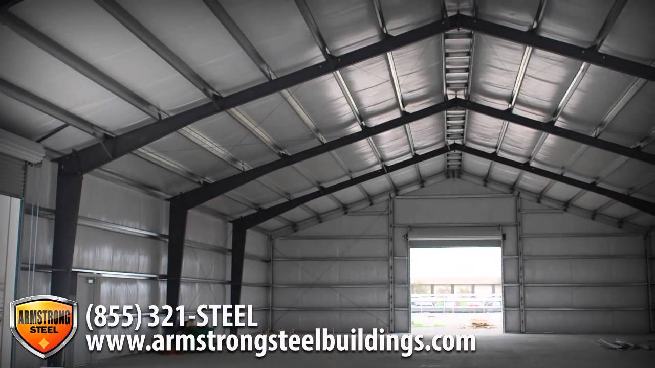 Armstrong Steel Building Systems Commercial  YouTube