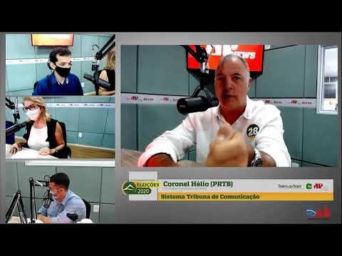 Assista entrevista com o candidato Coronel Hélio, do PRTB
