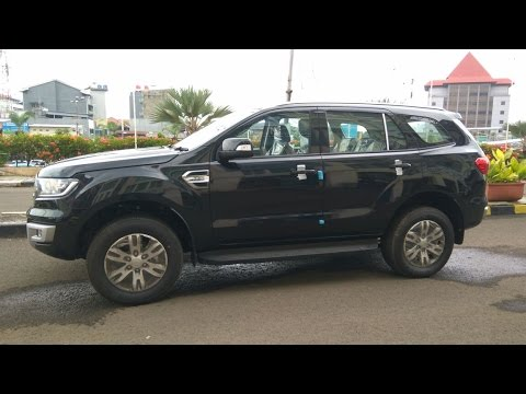 All New Ford Everest TDCI 2.2L Trend 4x2 AT 2015 hitam Mobil Bekas Ford Everest Anium Bekas on