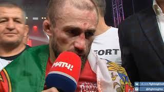 Слова Али Багаутинова после боя с Жалгасом Жумагуловым. FIGHT NIGHTS GLOBAL 95