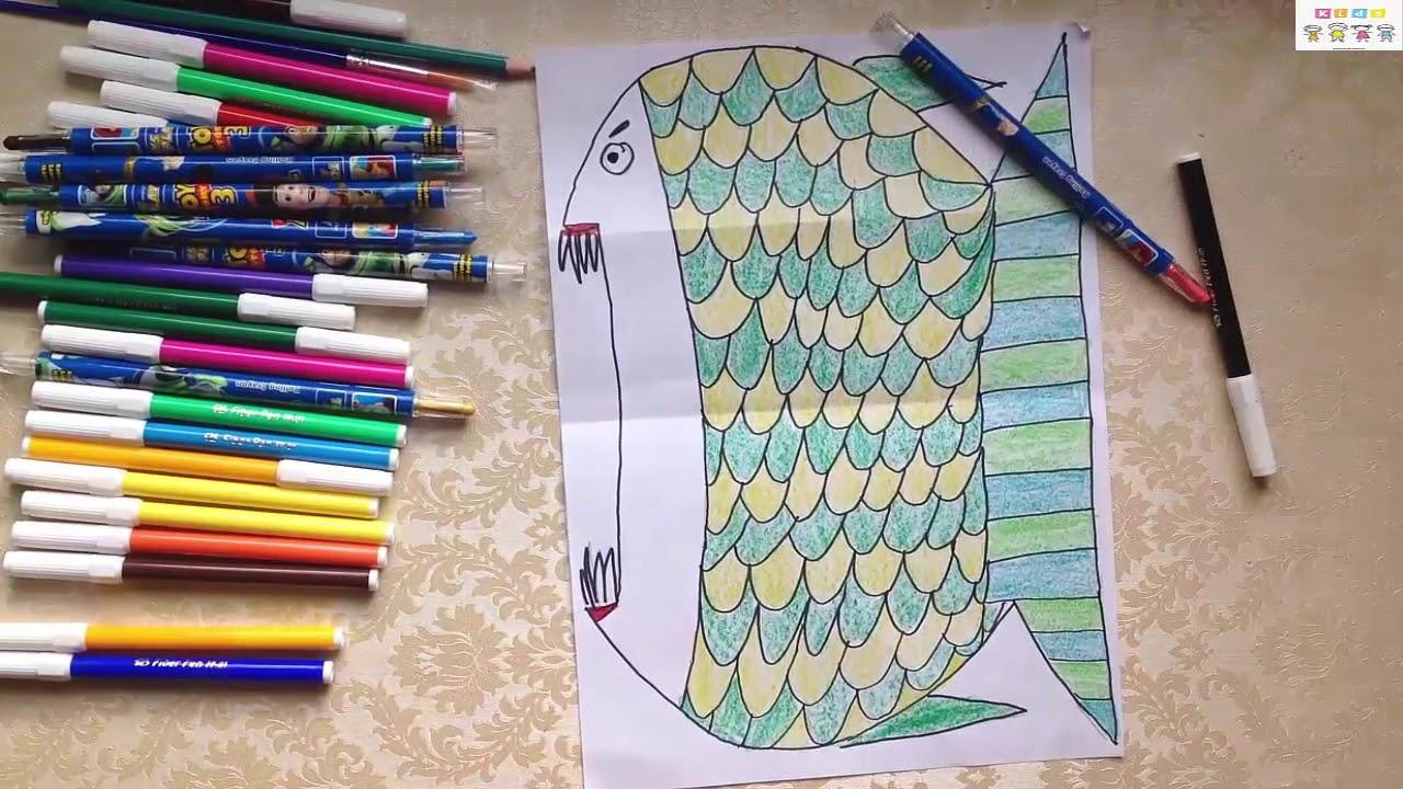 Hướng dẫn cách vẽ biến hình ngộ nghĩnh | Đồ chơi trẻ em