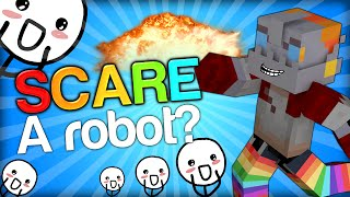 nooch got very scared scaring nooch minecraft trolling youtubers with minecraft mods scare prank
