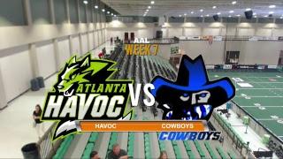 Atlanta Havoc vs South Carolina Cowboys AAL Football
