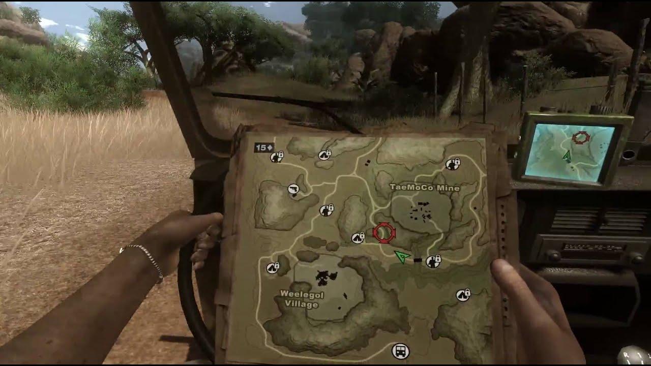 Far Cry 2 Hd 1080p Gameplay Gtx 285 Max Settings Youtube