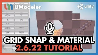 Introduction - UModeler 2.6.22 : New Grid Snap and Material Tool