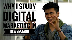 Why I Study Digital Marketing in New Zealand | Filipino Student