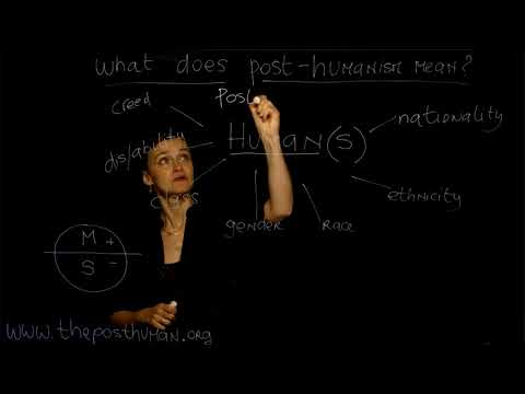 "4. What Does POST-HUMANISM Mean? Dr. Ferrando (NYU) - Course ""The Posthuman"" Lesson n. 4"