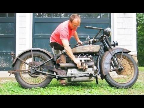 Perbaikan sepeda motor tua Penemuan Homemade Terbaik 2017 #6