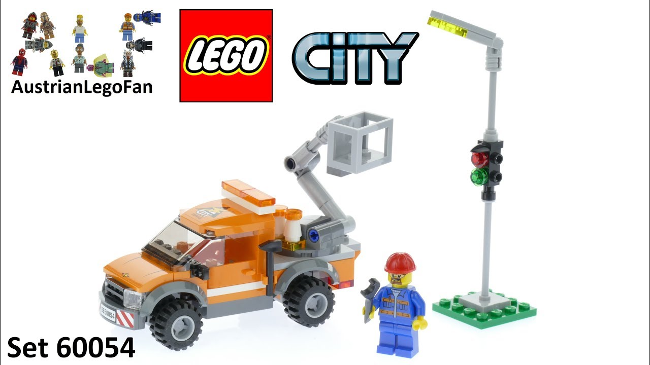 Lego City 60054 Light Repair Truck - Lego Speed Build Review