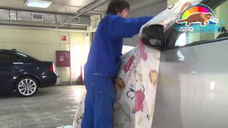 Ремонт кузова автомобиля Hyundai: локальная покраска без использования шпатлевки в