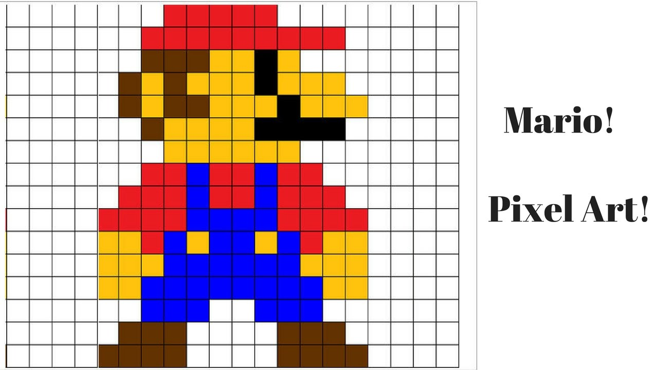 images?q=tbn:ANd9GcQh_l3eQ5xwiPy07kGEXjmjgmBKBRB7H2mRxCGhv1tFWg5c_mWT Pixel Art Mario @koolgadgetz.com.info