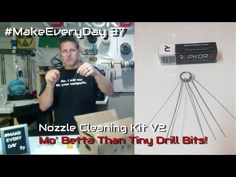Repkord 3D Printer Nozzle Cleaning Kit V2 Sneak Peek