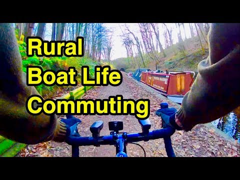 28.5 The Reality of Commuting by bike from my Narrowboat in rural places!