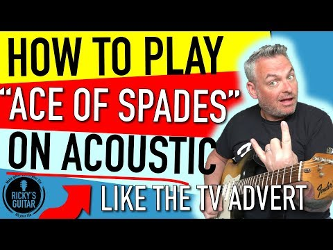 how to play part 1 ace of spades 39 slow the pace 39 motorhead chords chordify. Black Bedroom Furniture Sets. Home Design Ideas