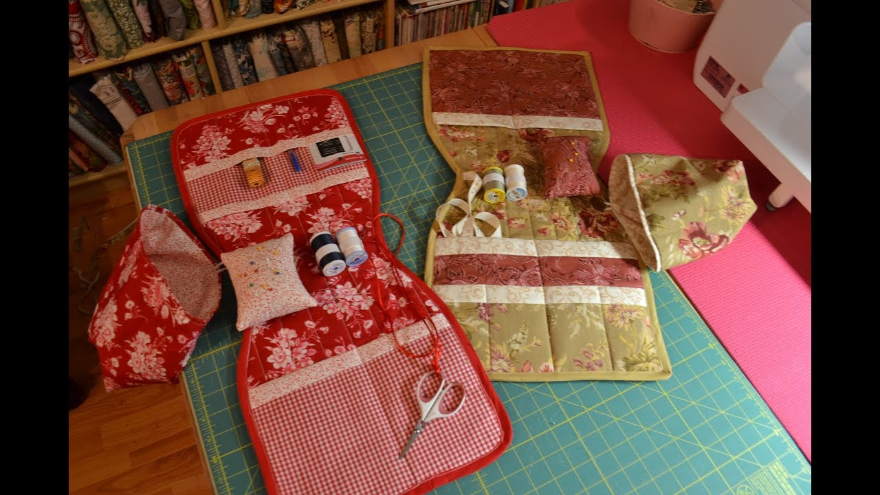 Episode 62 Part 1 Quilted Arm Chair Sewing Caddy