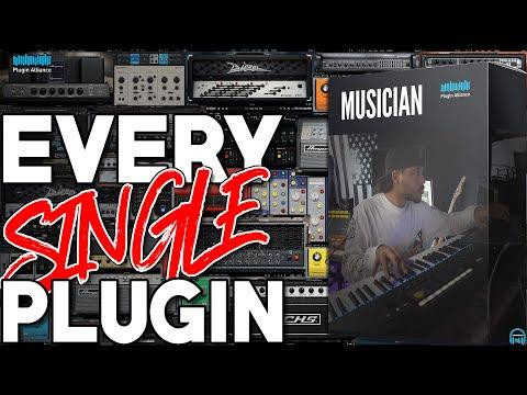 Plugin Alliance MUSICIAN Bundle - EVERY. SINGLE. PLUGIN.