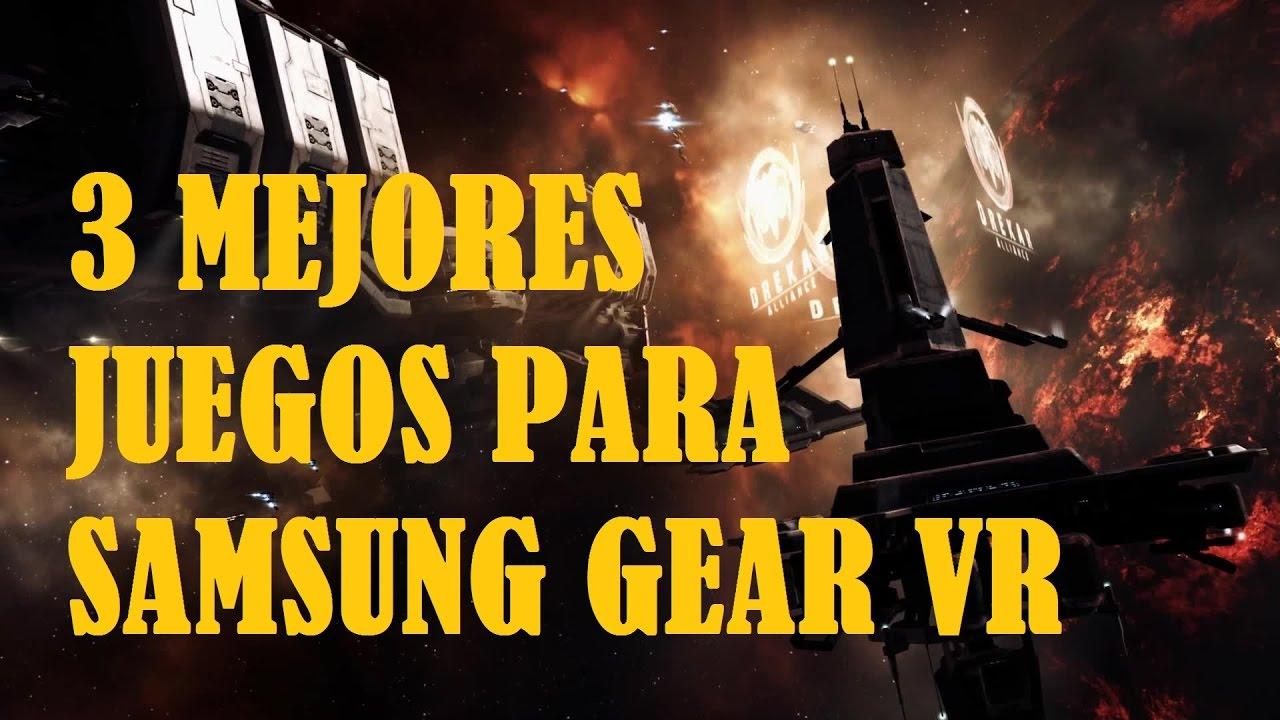 3 Mejores Juegos Para Samsung Gear Vr Youtube