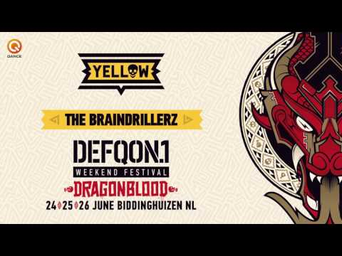 The colors of Defqon.1 2016 | YELLOW mix by The Braindrillerz