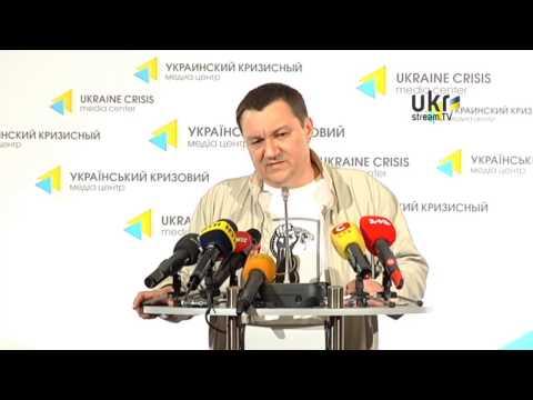 Dmytro Tymchuk. Ukrainian Сrisis Media Center. May 15, 2014