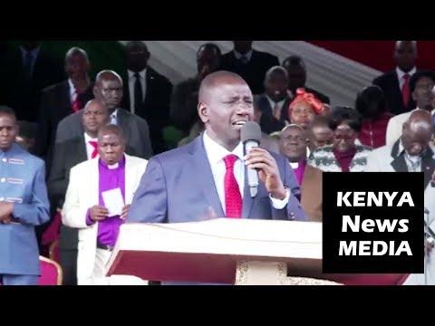 DP William Ruto PRAYS for Uhuru Kenyatta and 2022 Campaign!!!