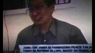 BEU JOSE MARIA SISON INTERVIEW REGARDING REBELLION